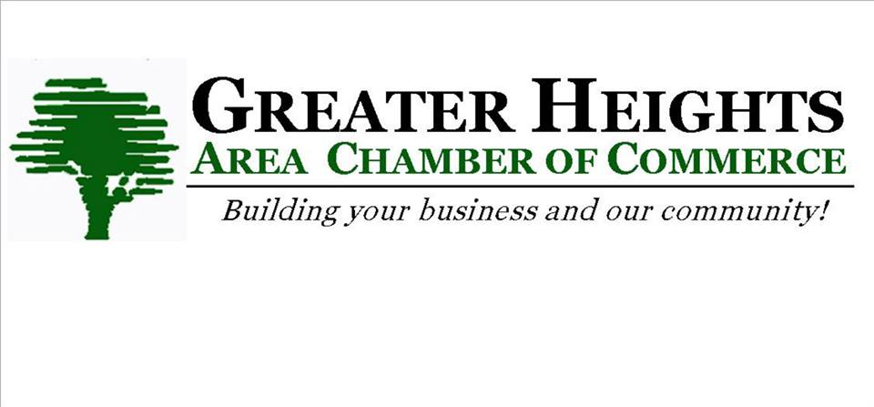 Active members of Greater Heights Chamber of Commerce.