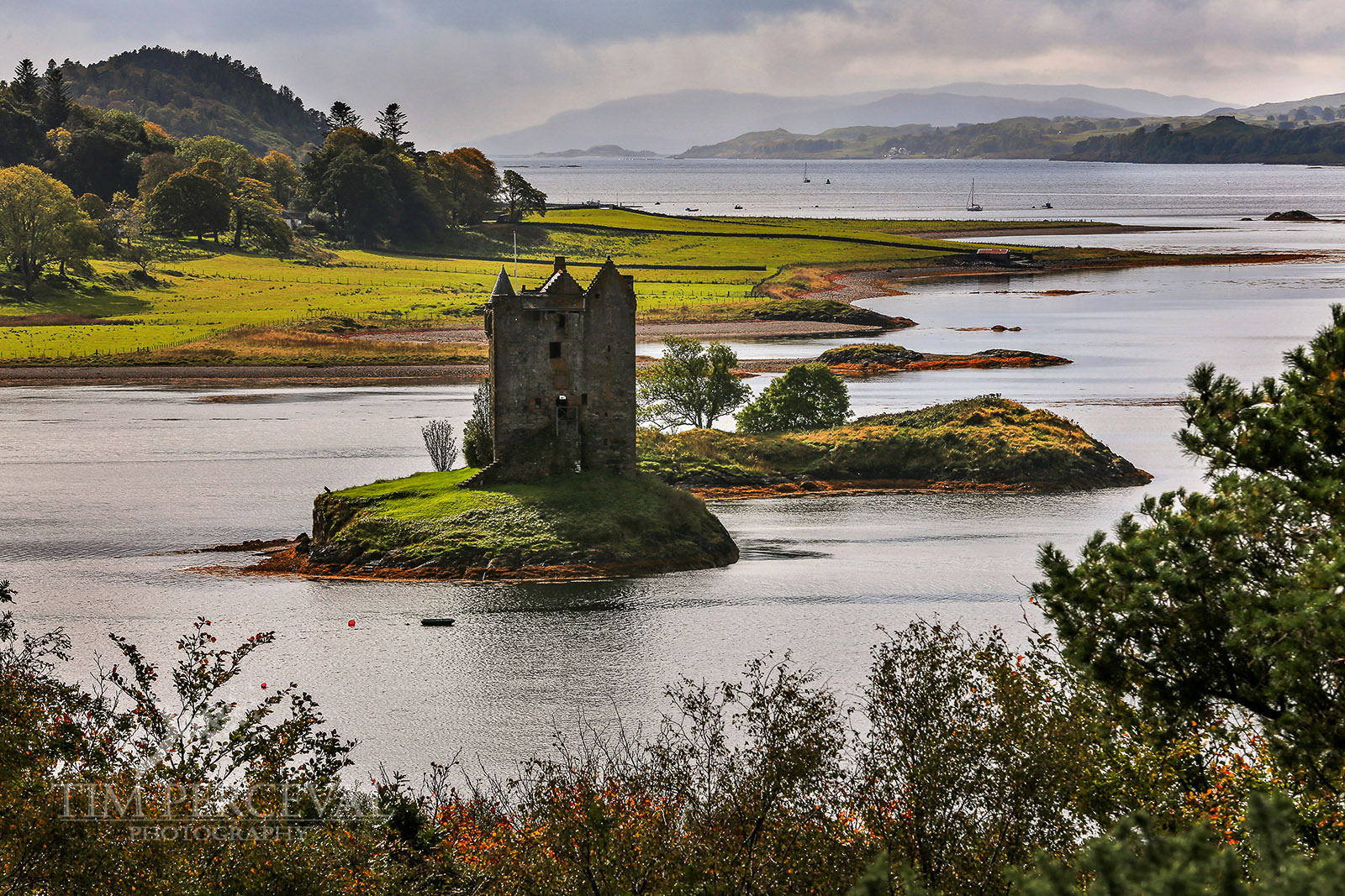 Castle Stalker at High Tide
