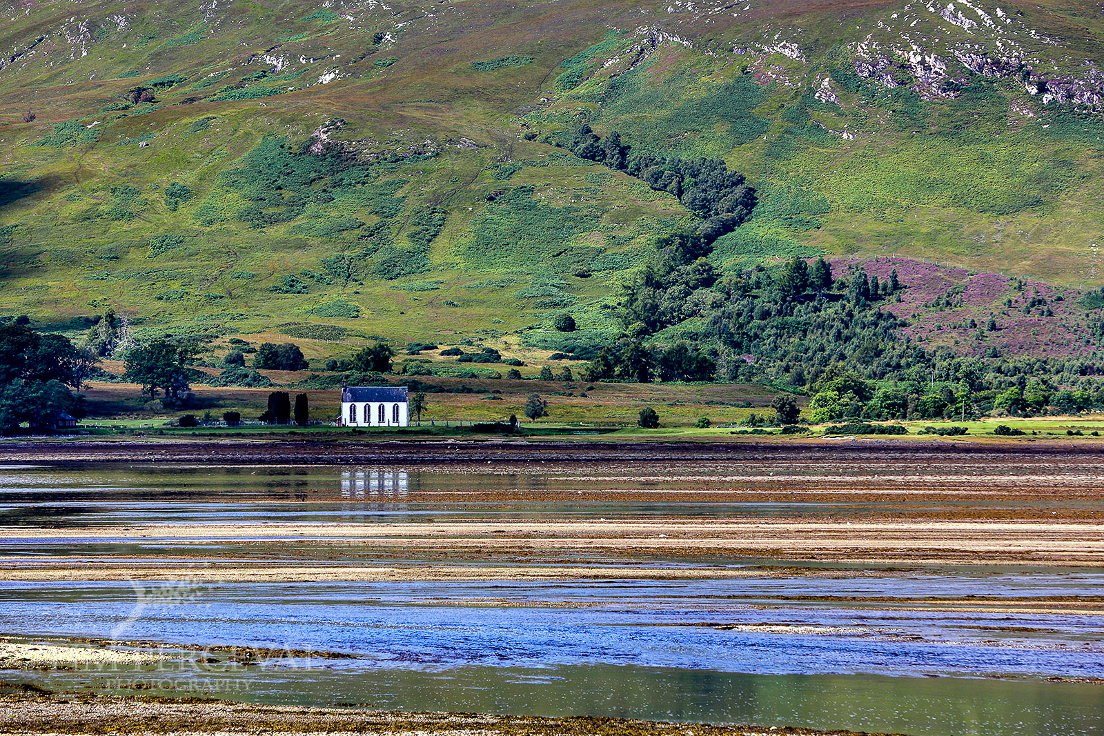 Colourful Layers and Chapel on Lochcarron