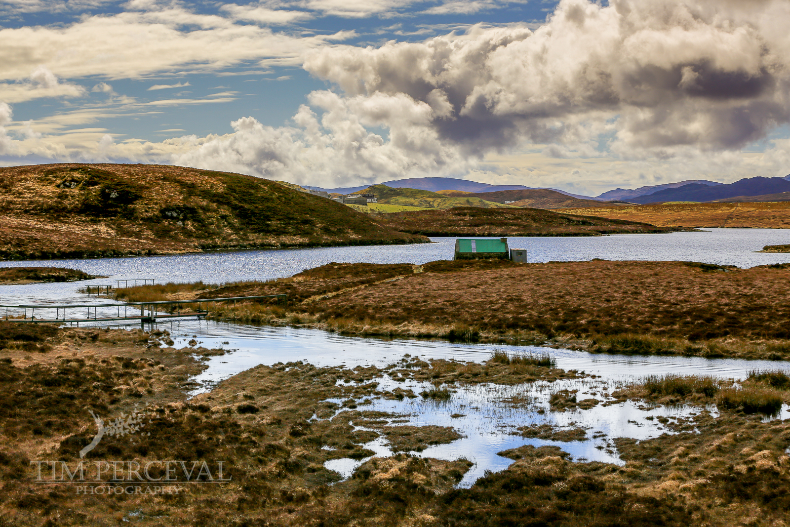 Little Green Hut, Loch Bhaltois, Isle of Lewis