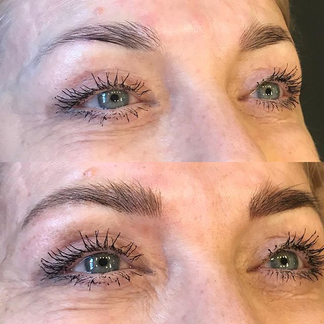 Fluffed and filled Irina's brows at @studionoiroakland the other day. What a lovely human! She's taking these brows back with her to Germany ✈️ . . . #goodvibes #microbladedbrows #smallbusiness #pursuepretty 💅🏻 #eyebrowsonfleek #beauty #savetime #instabeauty #dailylook 👩🏻 #cosmetictattoo #tattoo #beautiful #beauty #beautytips 💄 #microblading #microshading 👱🏻♀️#cosmetics #bigbrows 💰 #eyes 👀 #softap #healthy #brows #dariachuprys #tinadavies #iheartink