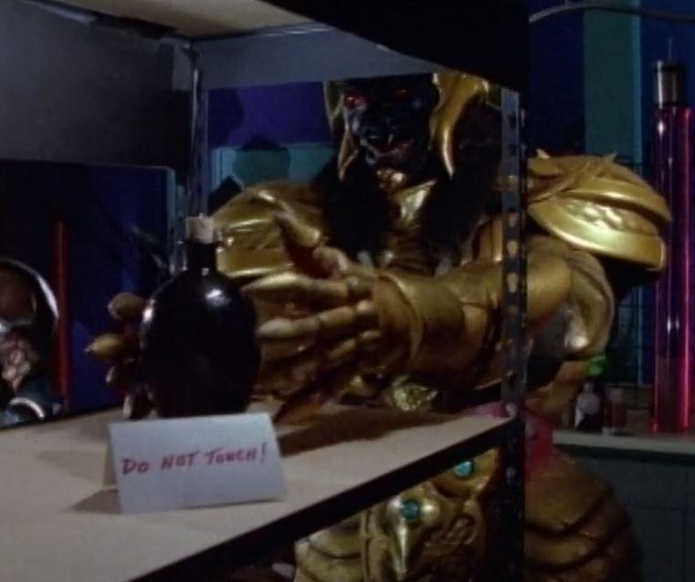 Episode Discussed : Mighty Morphin Power Rangers S1E15: Dark Warrior