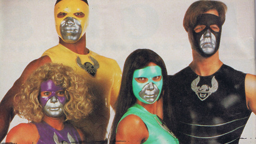 Tattooed Teenage Alien Fighters From Beverly Hills