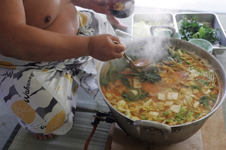 Basho & Tell: A big bowl of Chicken Chanko-Nabe for the Soul