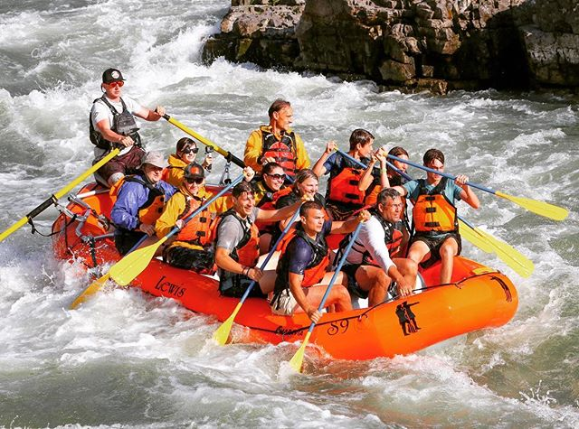 IT'S WHITEWATER WEDNESDAY 🧡 we have hit the halfway point in our summer season and hope to see you before the summer ends ☀️ #whitewaterwednesday #tagresponsiblykeepjacksonholewild #jacksonhole #thatsWY