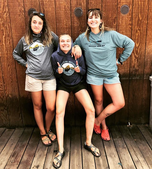 🚨 ATTENTION INSTAGRAM 🚨 we are celebrating the halfway point of our summer season with a GUIDE HOODIE GIVEAWAY 🥳Tag us @lewisandclarkjh in a photo of you and your crew adventuring outside (either on the river, or not) by Monday July 22nd and be entered to win a free guide hoodie with the design of your choice! Tag your friends in the comments below to spread the word! #summergiveaway #jacksonhole
