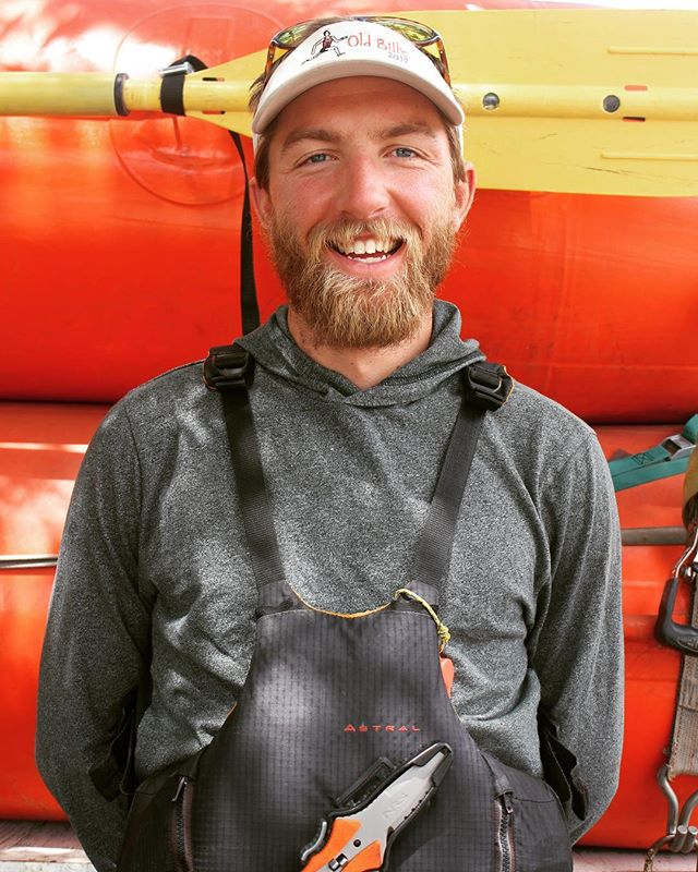 Meet Stephen! He is the Fastest Man in Jackson and has been guiding for five years. He studied mathematics and computer science at UNC Chapel Hill and is from Wrightsville Beach, NC. You can spot Stephen sporting his yellow Crocs or running the Grand Teton on his days off. Come rafting with Stephen!