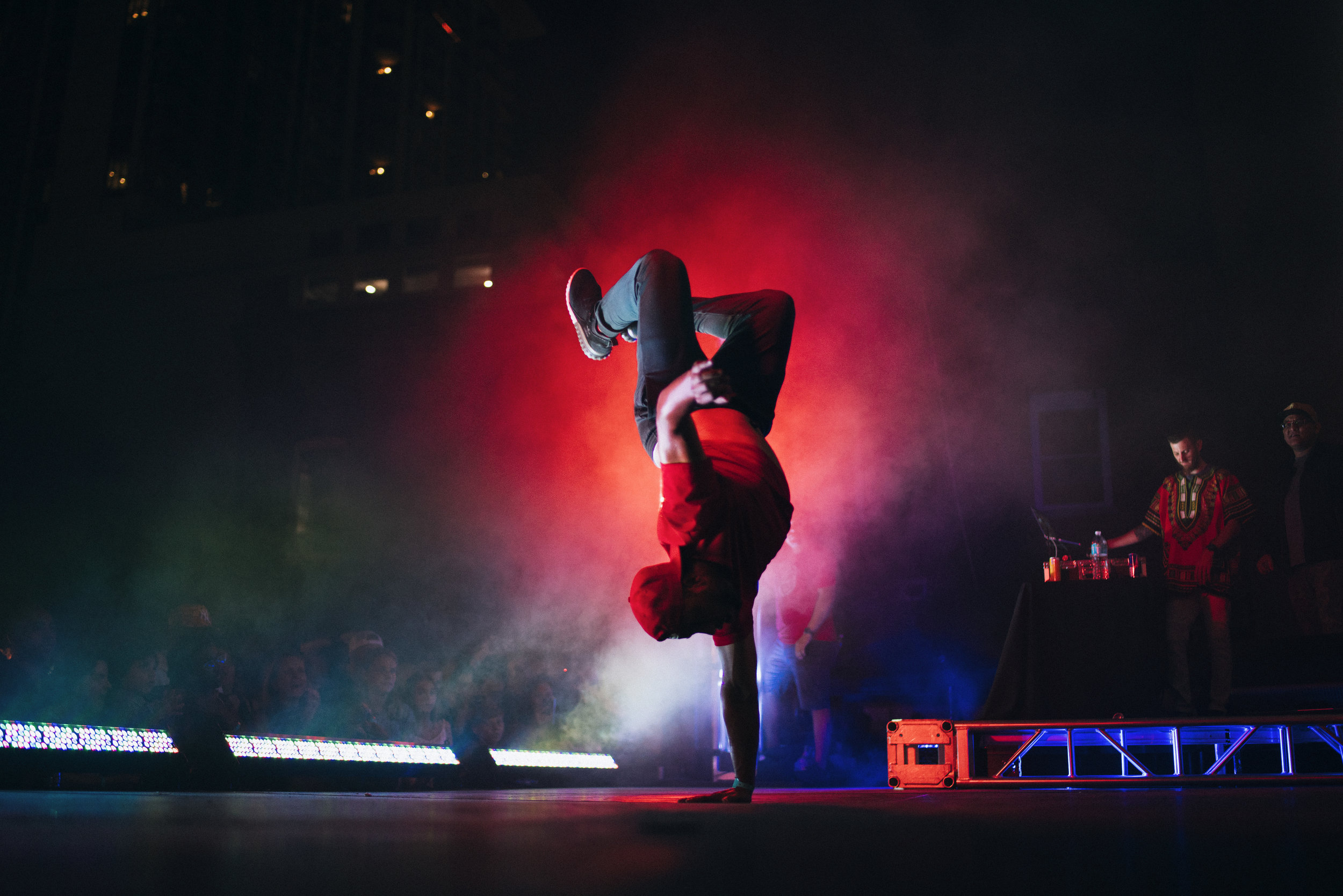 The Red Bull BC One B Boys (photo : Michael Alfonso)