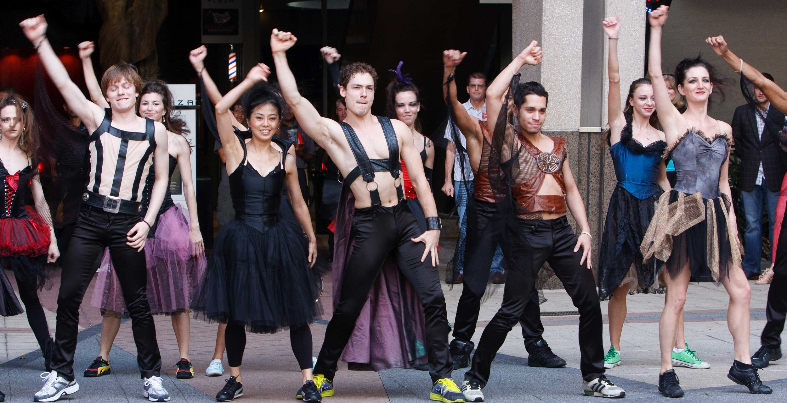 Orlando Ballet performs downtown in 2012.