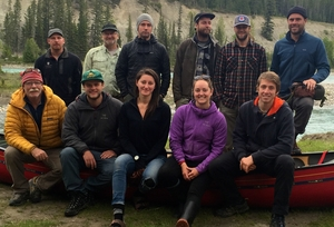 The Nahanni Wilderness Adventures Guide Team