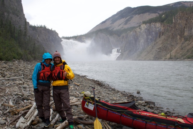 Nahanni River Couple Below Virginia Falls.jpg