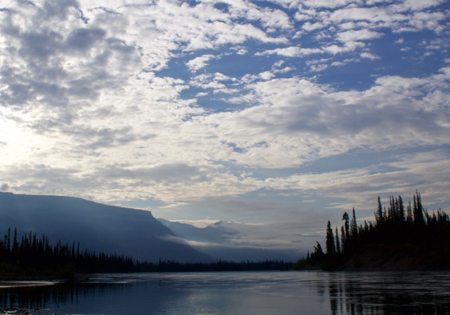 Nahanni River Looking along Sunblood Range.jpg