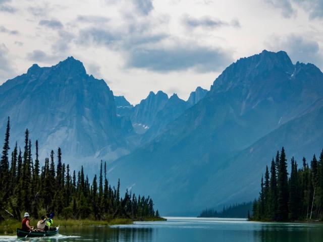 Nahanni River Caneing Glacier Lake.jpg