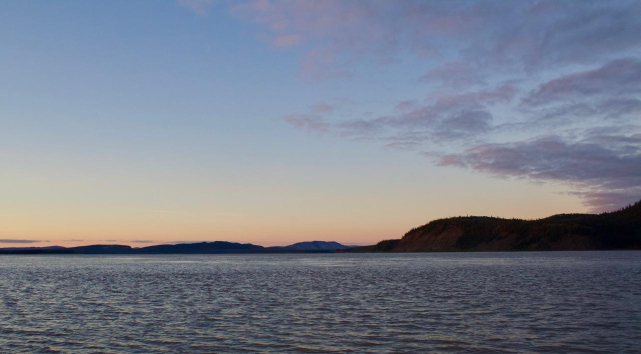 Mountain and Mackenzie River Confluence Sunrise.jpg