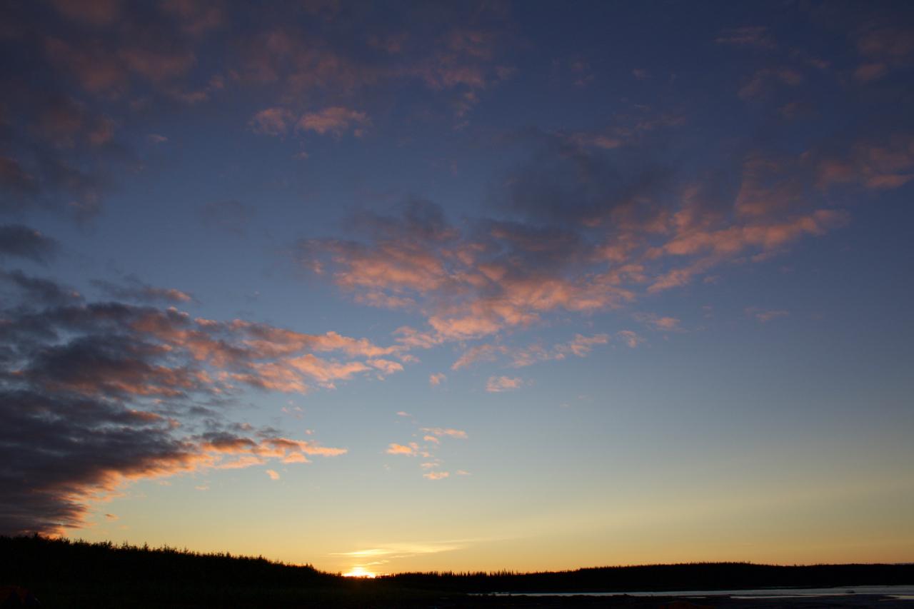 Mountain River Mackenzie confluence sunset.jpg