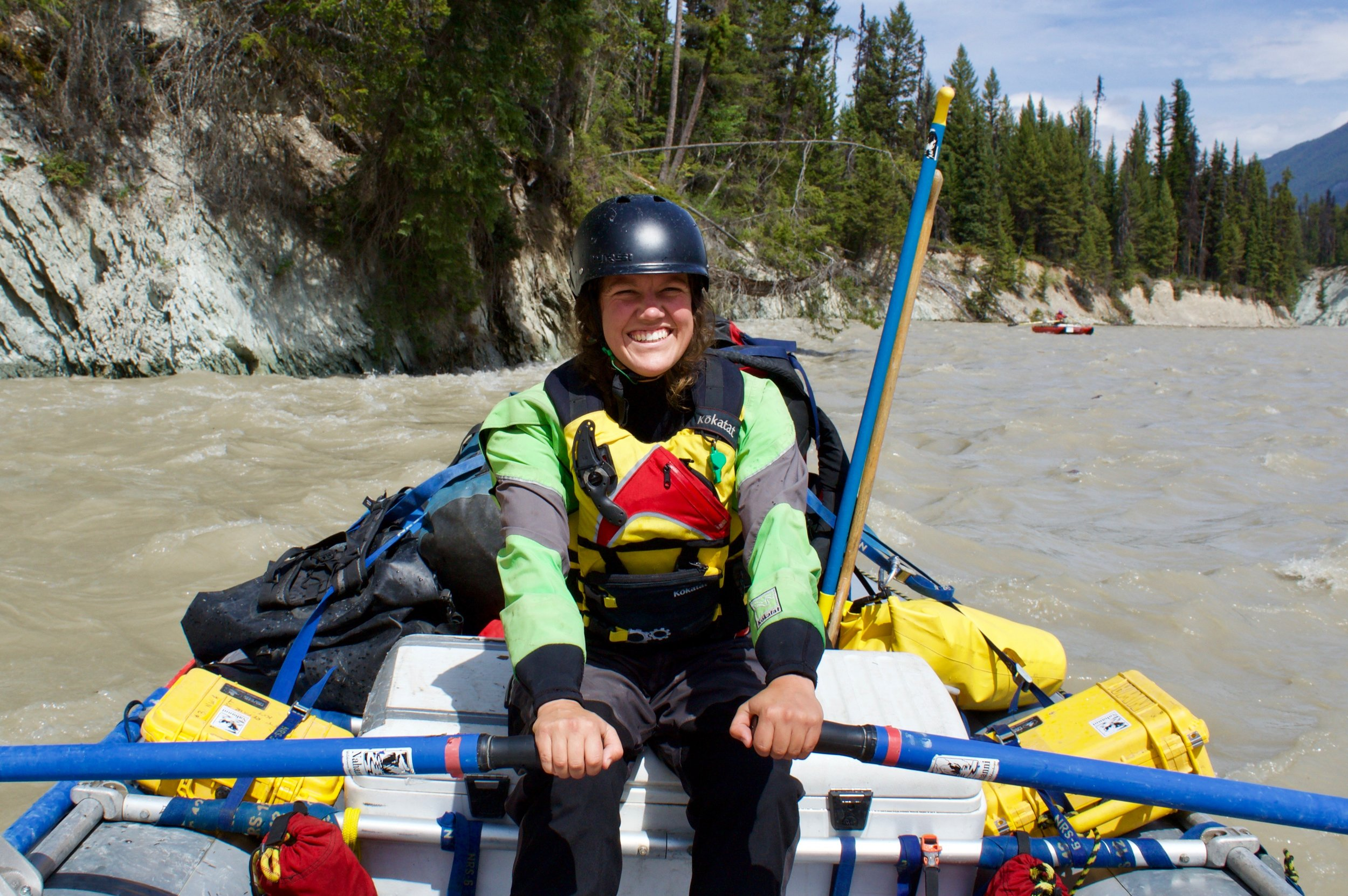 Stephi Walker Nahanni Wild River Guide