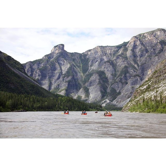 That moment when you, a few friends and a million years of geological history combine to make the memories that will last a lifetime... #NahanniWild #GettingAfter #Nahanni #SpectacularNWT #Canoeing #adventure #passionpassport