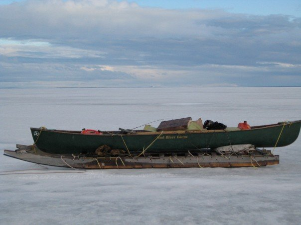 An  early  season canoe trip ;)