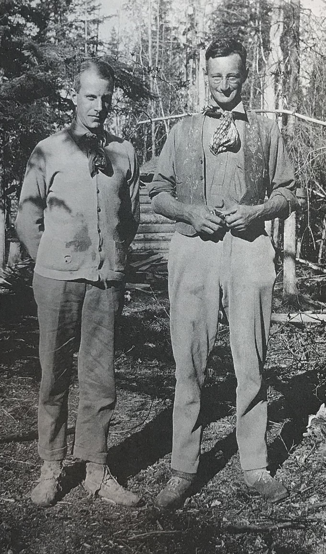 Left:  Gordon Matthews   Right:  R.M. Patterson
