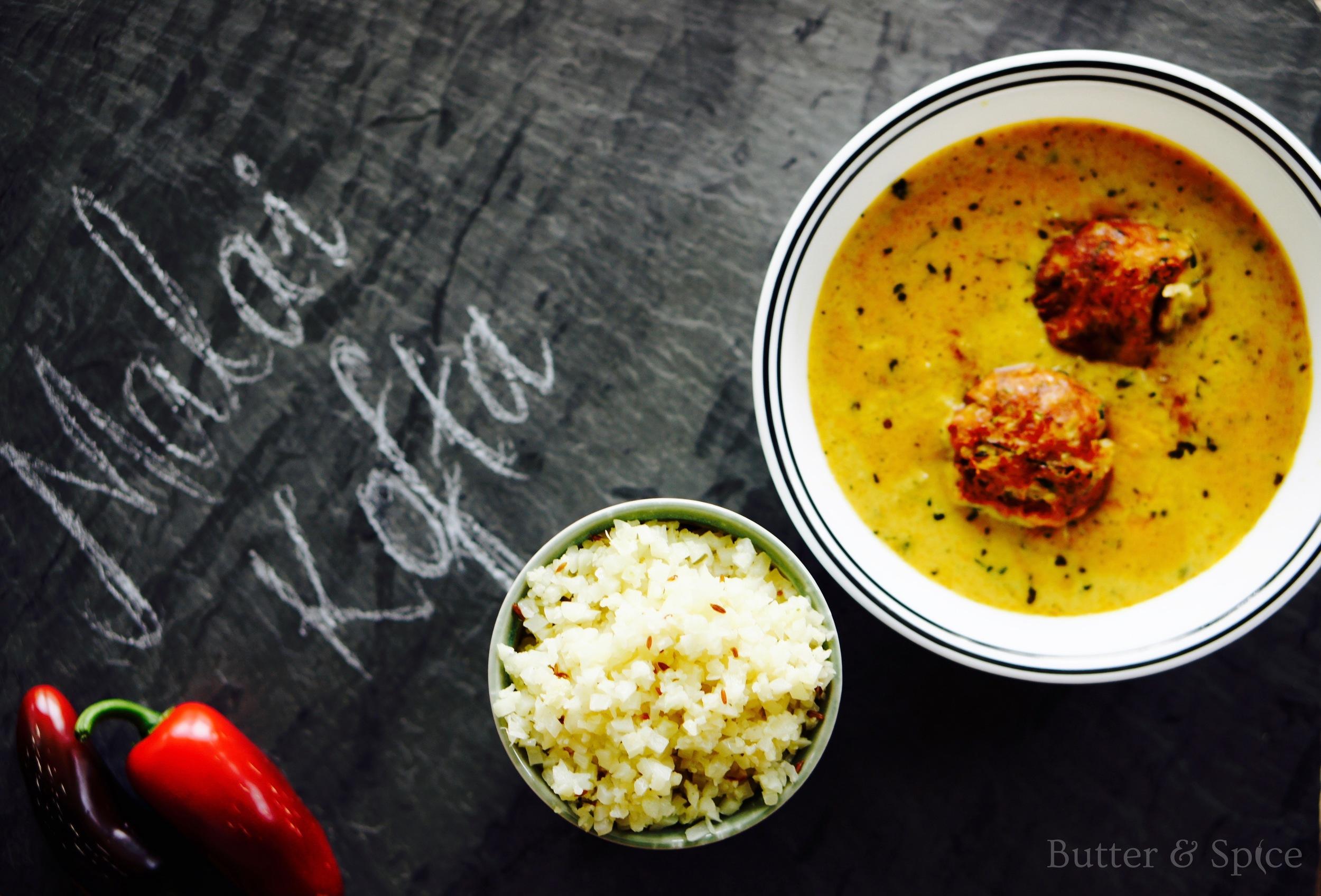 Low Carb Malai Kofta Curry