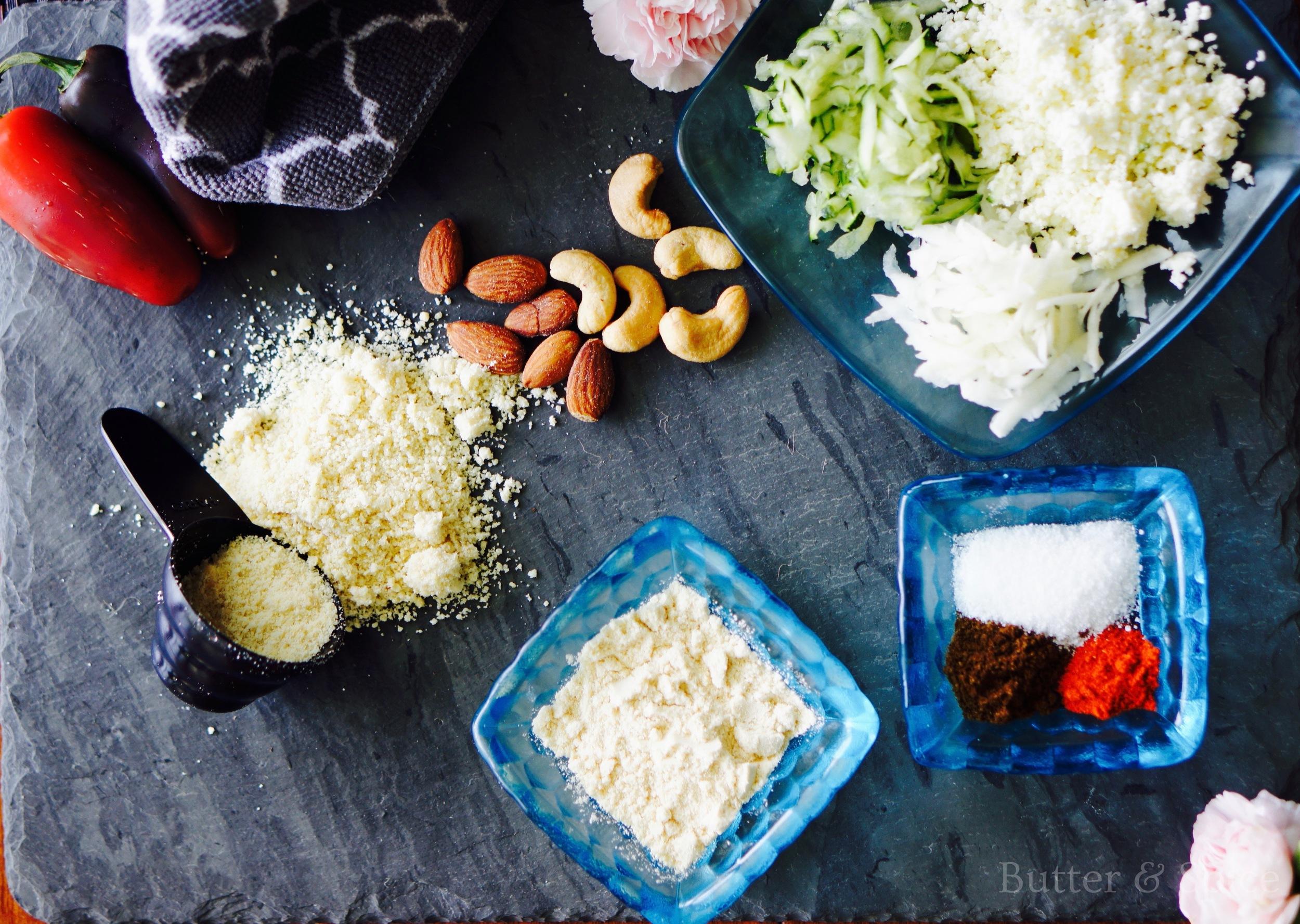 Low Carb Malai Kofta Ingredients
