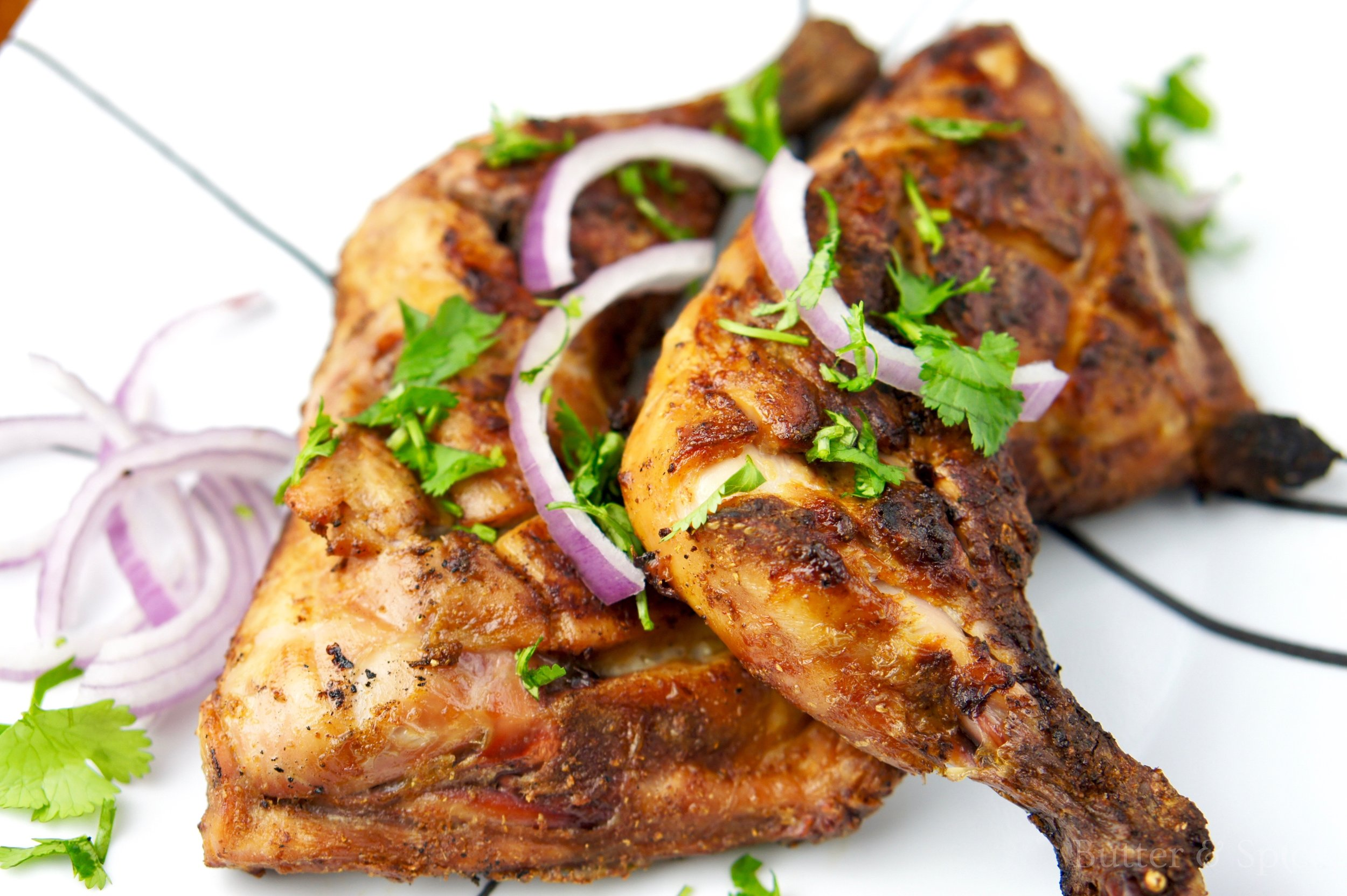 Keto Barbecued Indian Chicken