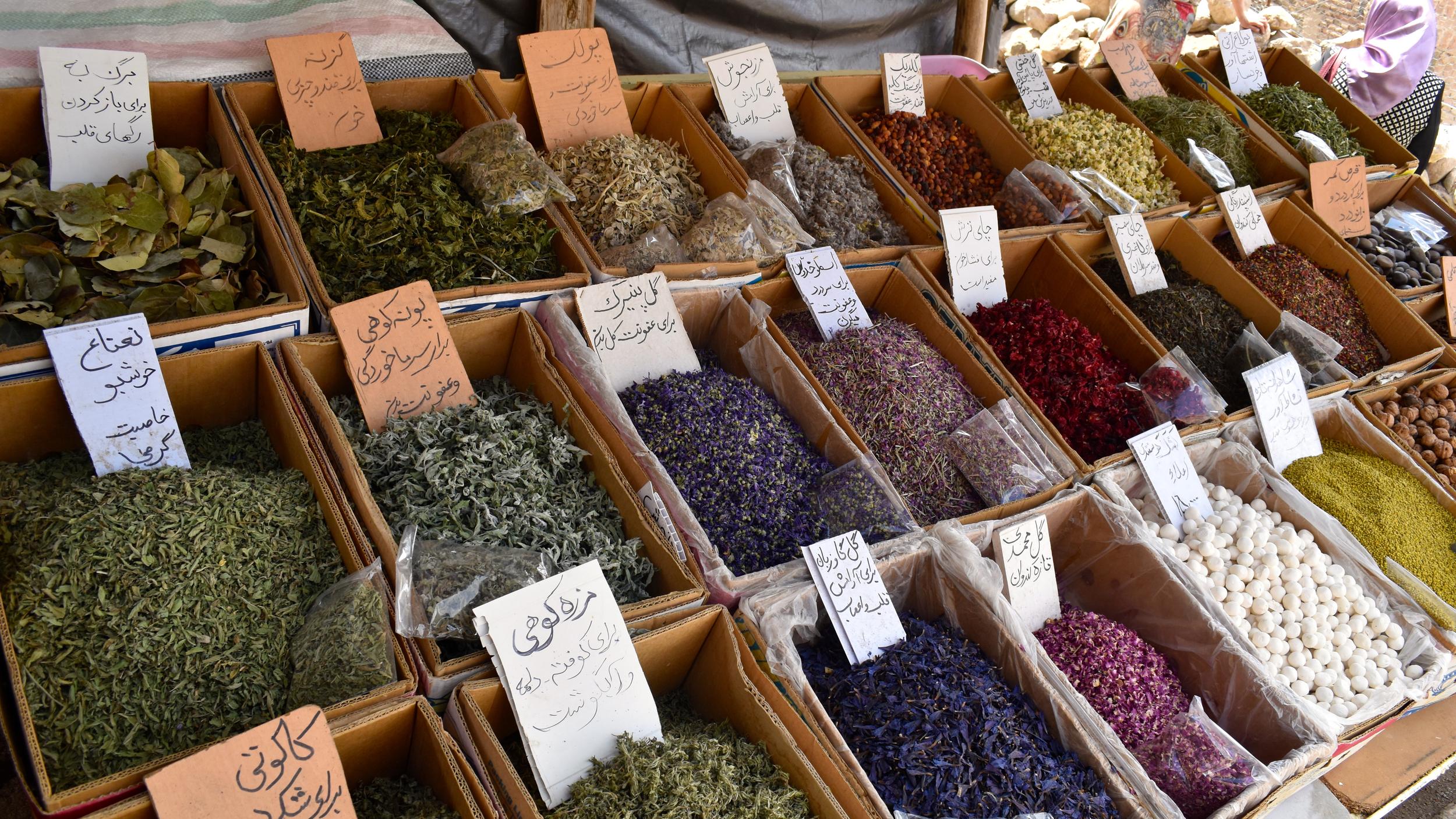 Iran-NW-Kandovan-herbs.jpg
