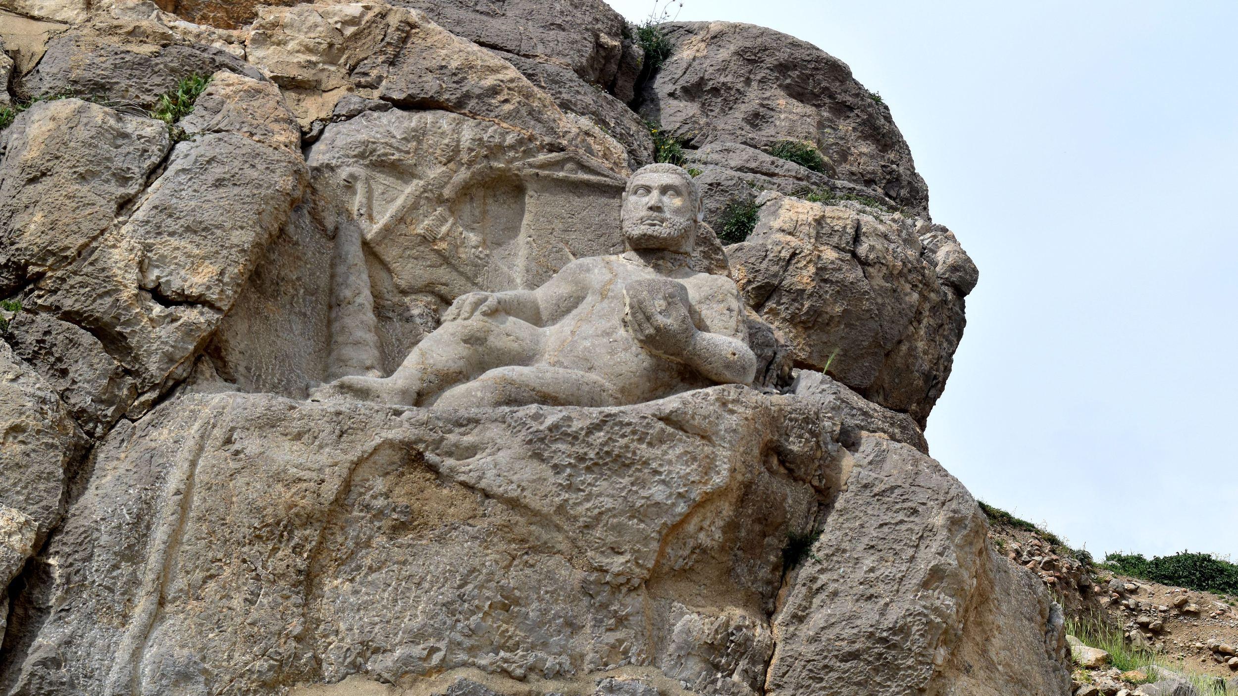 Iran-Bisotun-Hercules