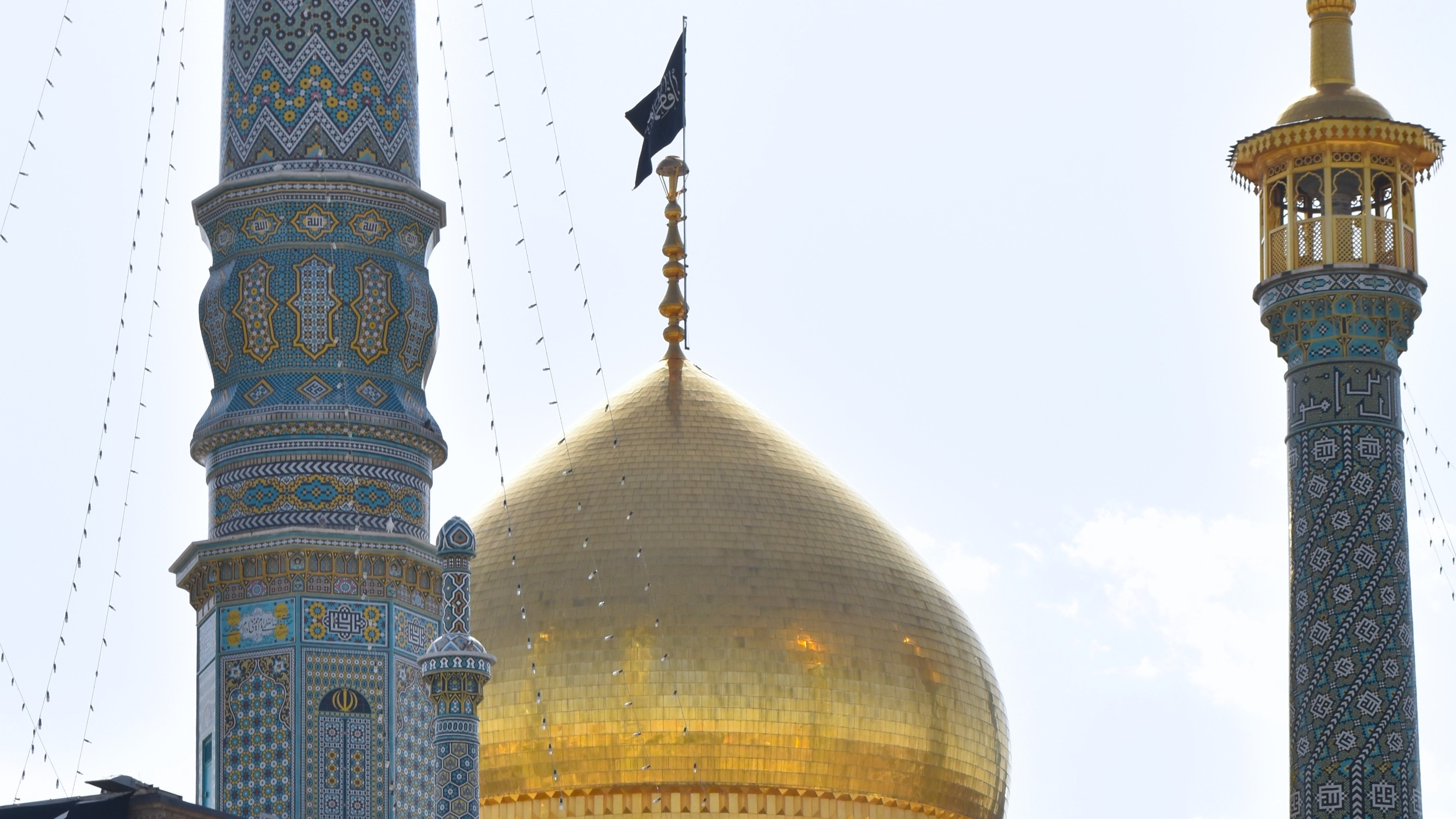 Iran-Qom-Fatima-Masumeh-mosque-gold-dome