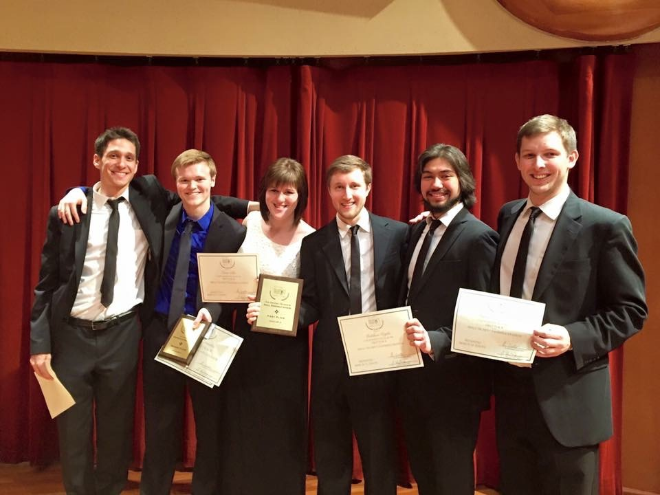 Curtis Institute Trumpets Win the National Trumpet Competition