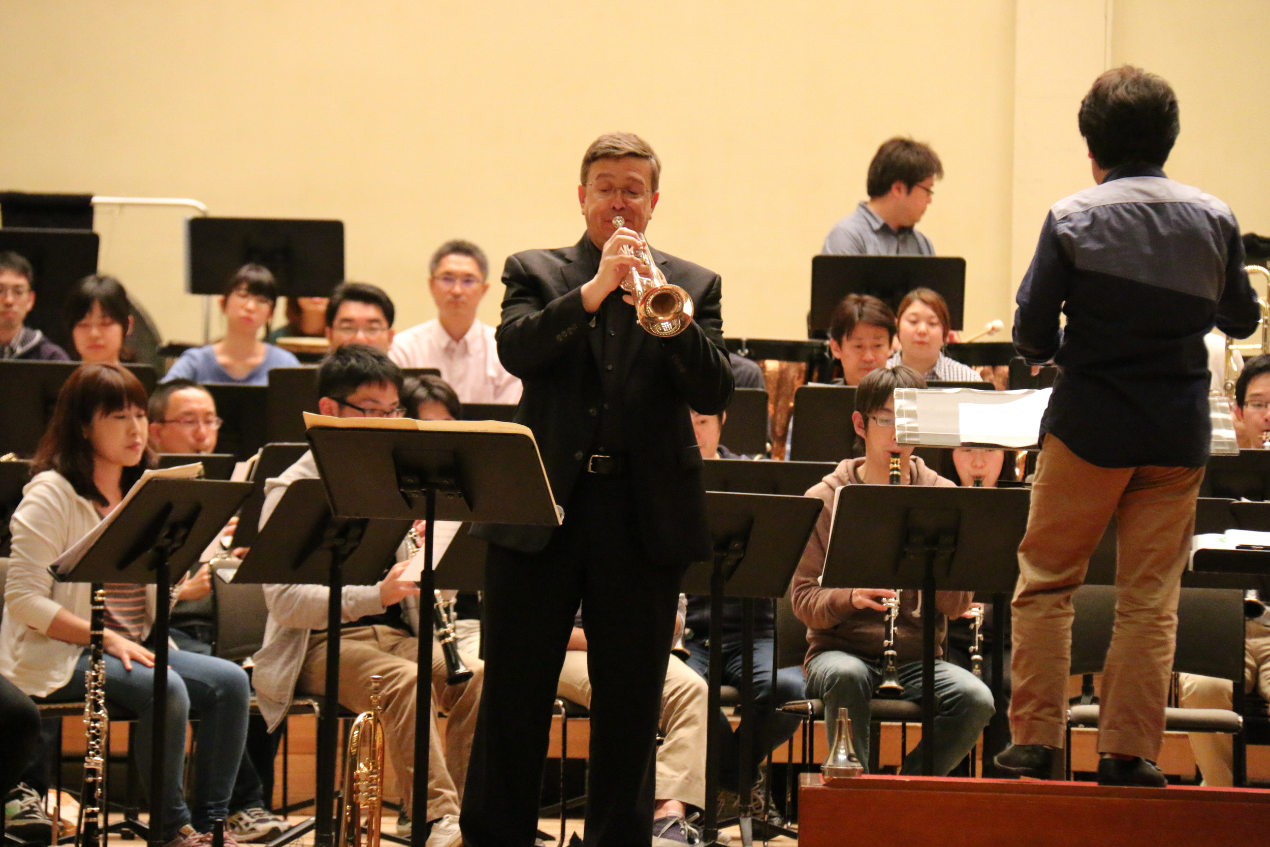 Solo with the Yamaha Symphonic Band