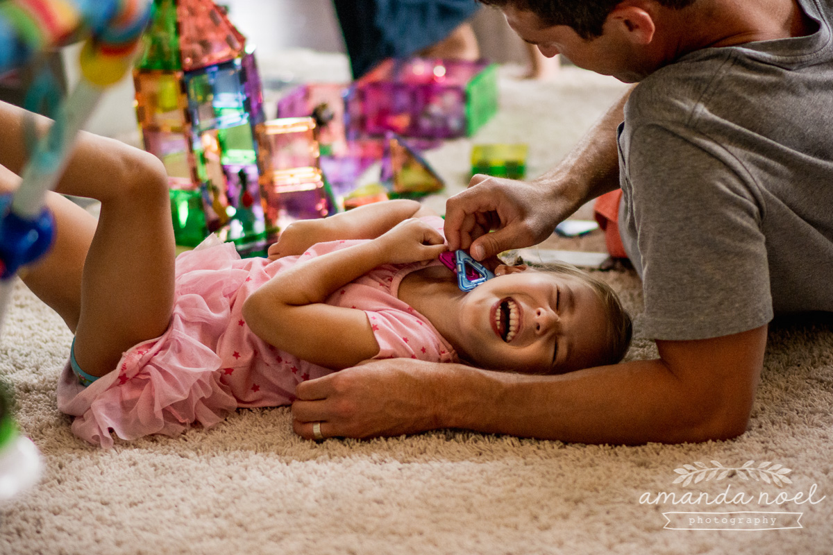 Springfield Documentary Family Photographer | Amanda Noel Photography | Day in the Life K Family preschool sister and baby brother