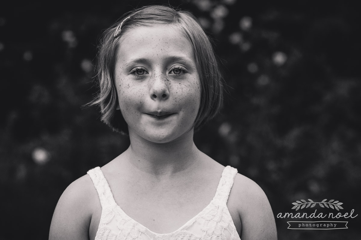 Springfield Lifestyle Family Photographer | Amanda Noel Photography | family of 6 redhead