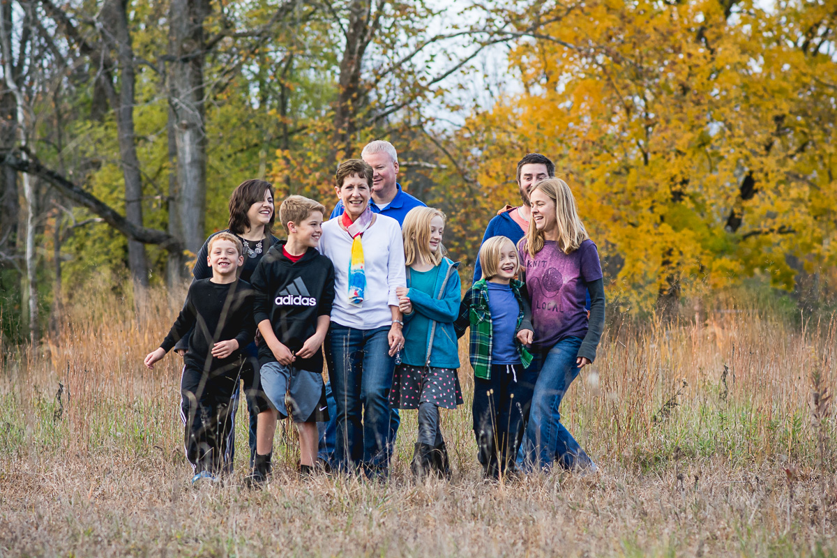 Springfield Ohio Family Photographer | Amanda Noel Photography | extended family fall session