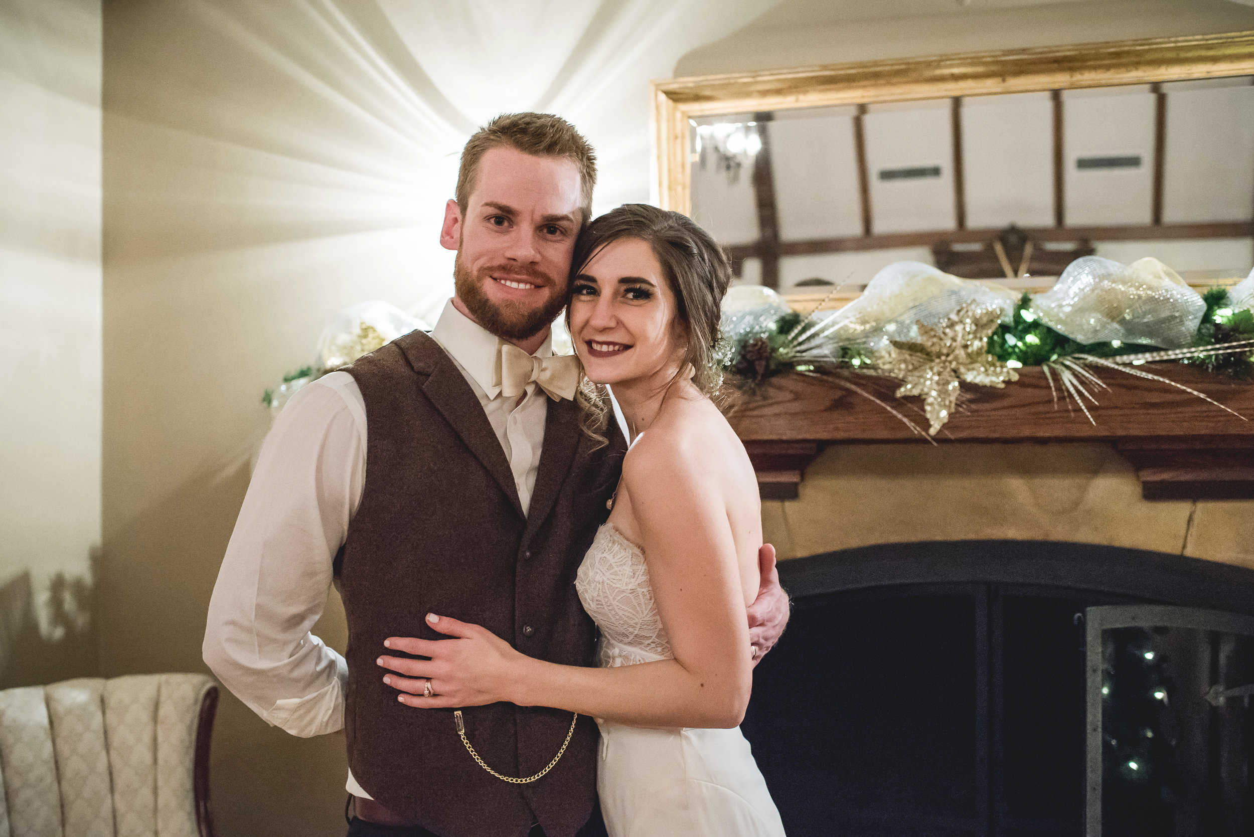 Springfield Ohio winter wedding | Amanda Noel Photography