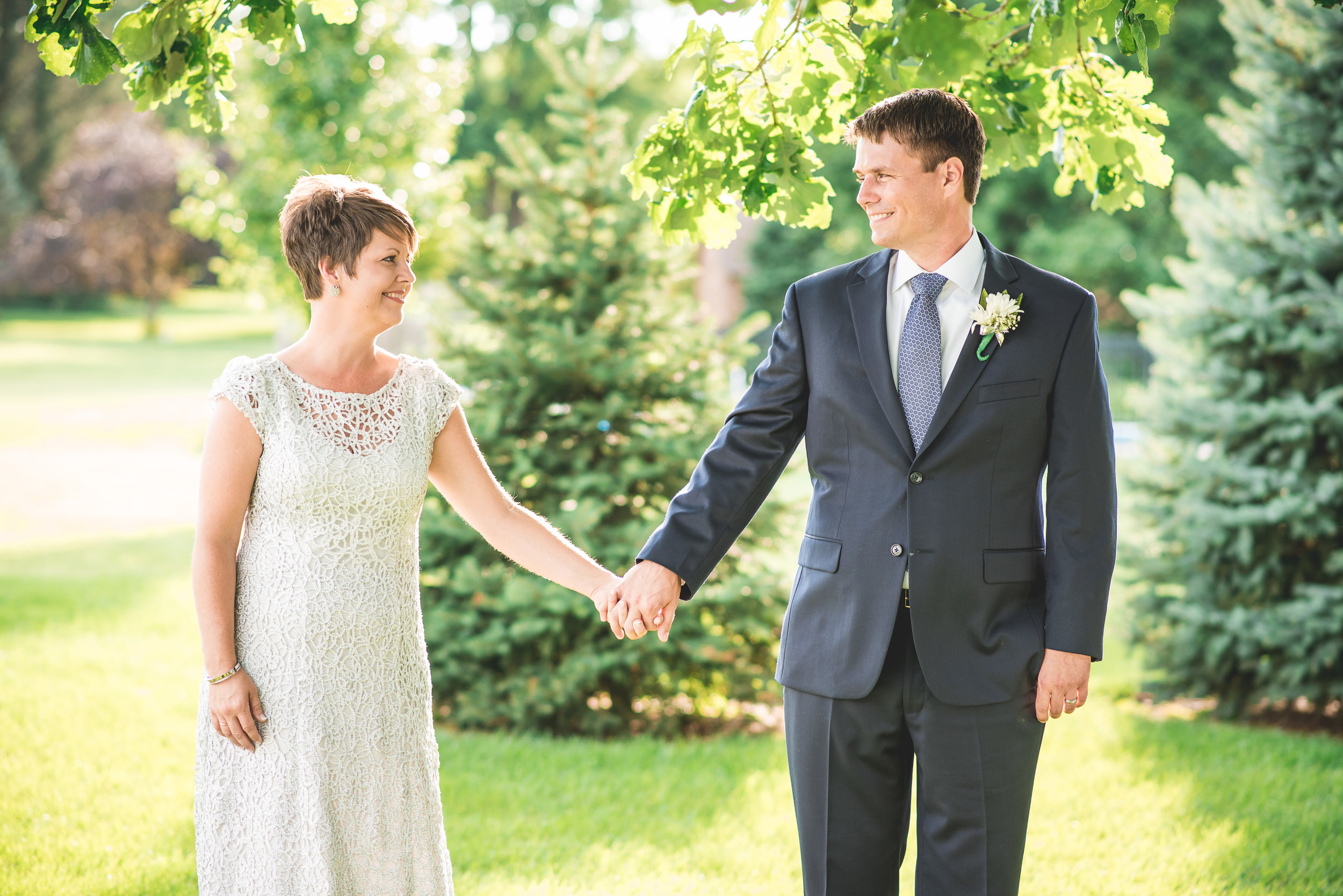 springfield ohio backyard intimate wedding