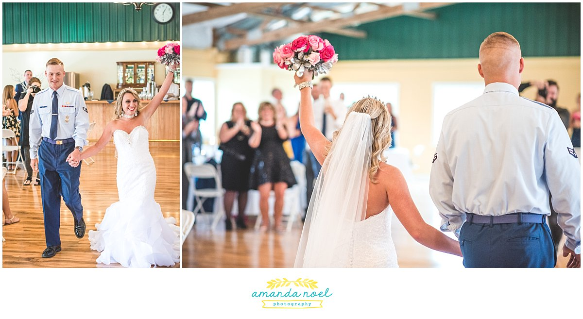 Springfield Ohio wedding grand introduction