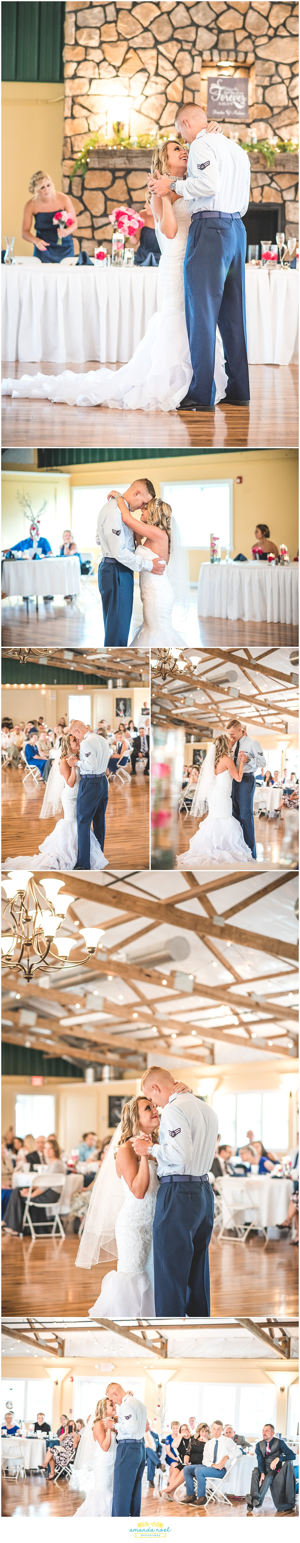 Springfield Ohio wedding first dance