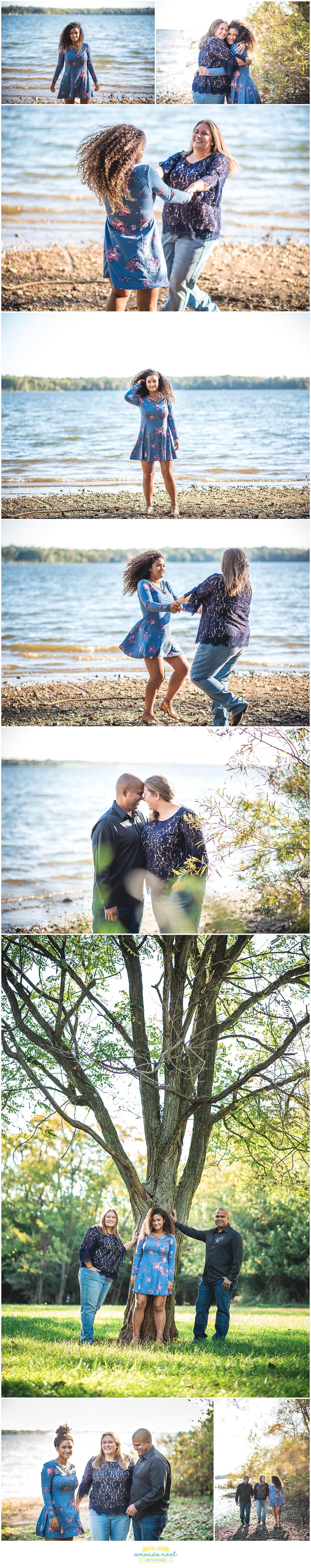Dayton Ohio family photographer | Amanda Noel Photography | family beach portraits