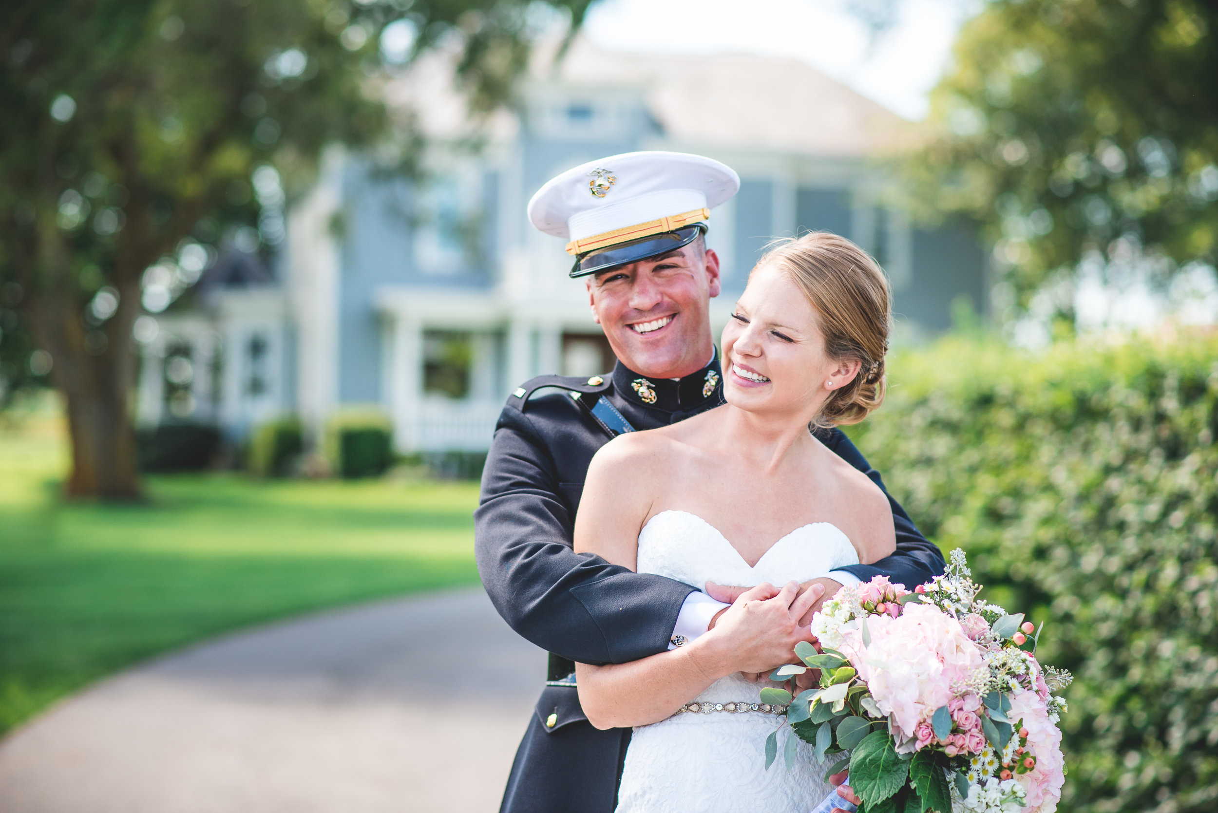 Columbus Ohio Wedding Photographer | Outdoor farm wedding