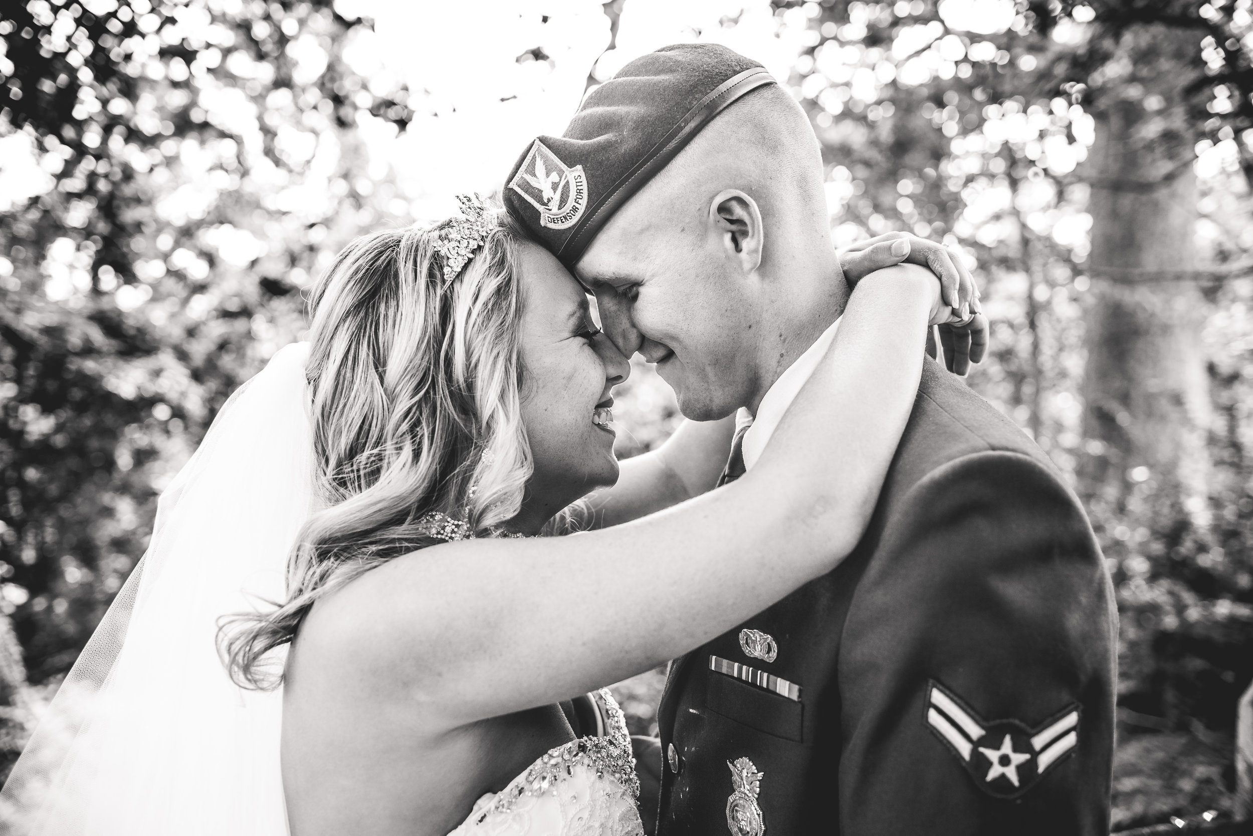 Columbus Ohio Wedding Photography | military wedding