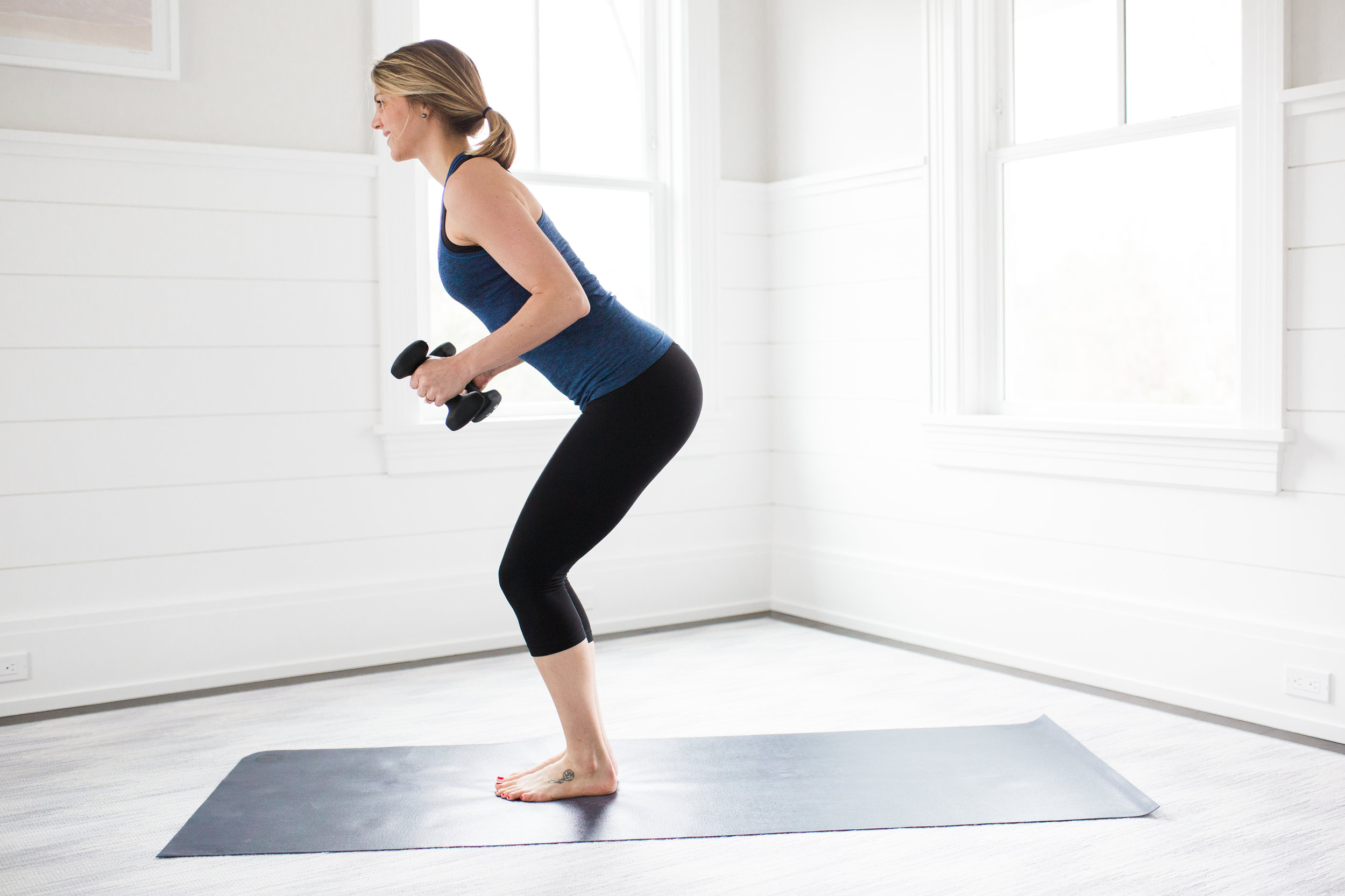 Toning Yoga Moves Chair Pose