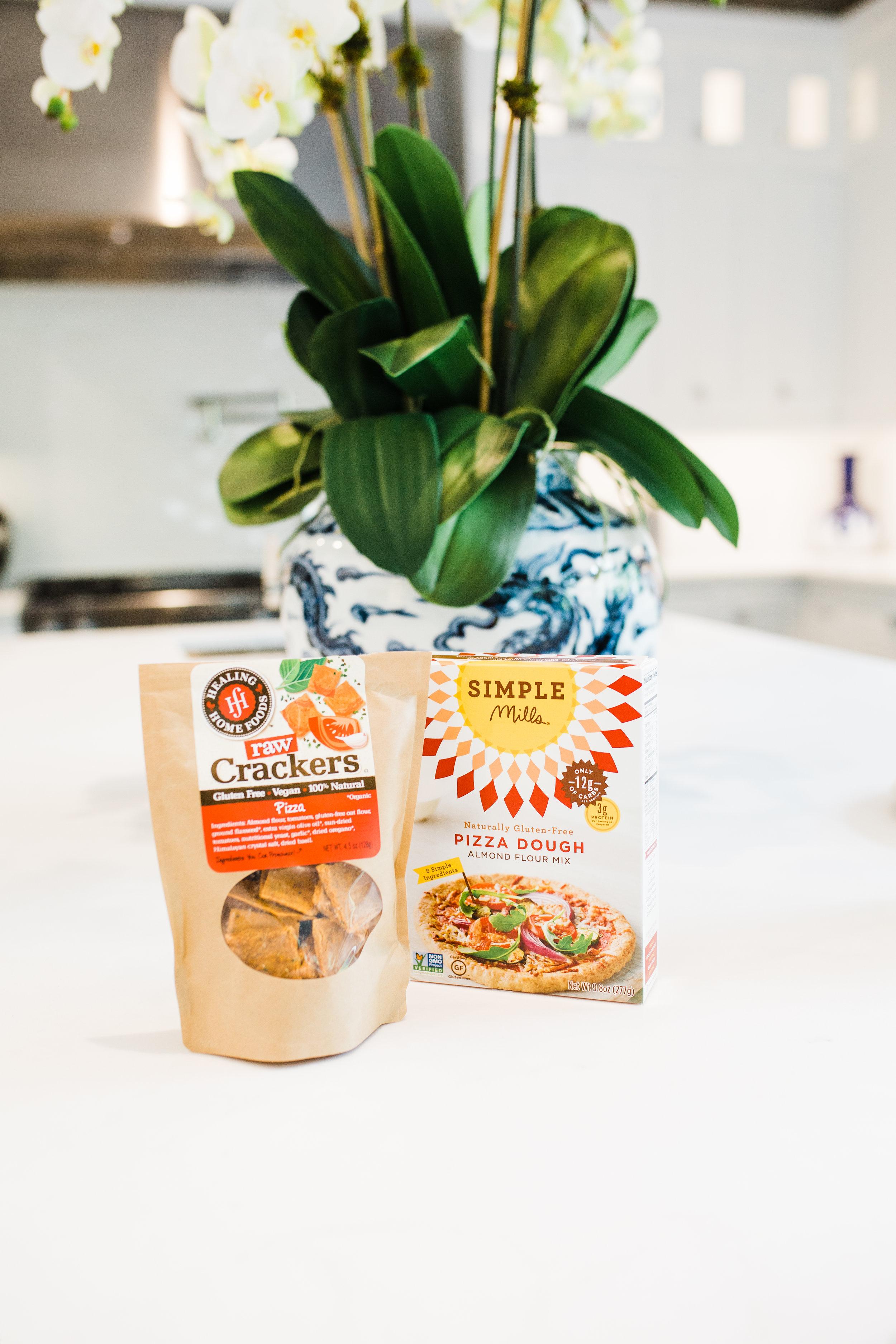 Healing Home Foods Crackers