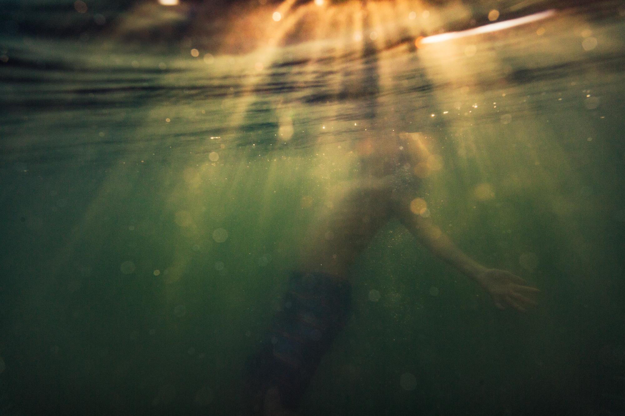 last river swim - photo by Jennifer Kapala