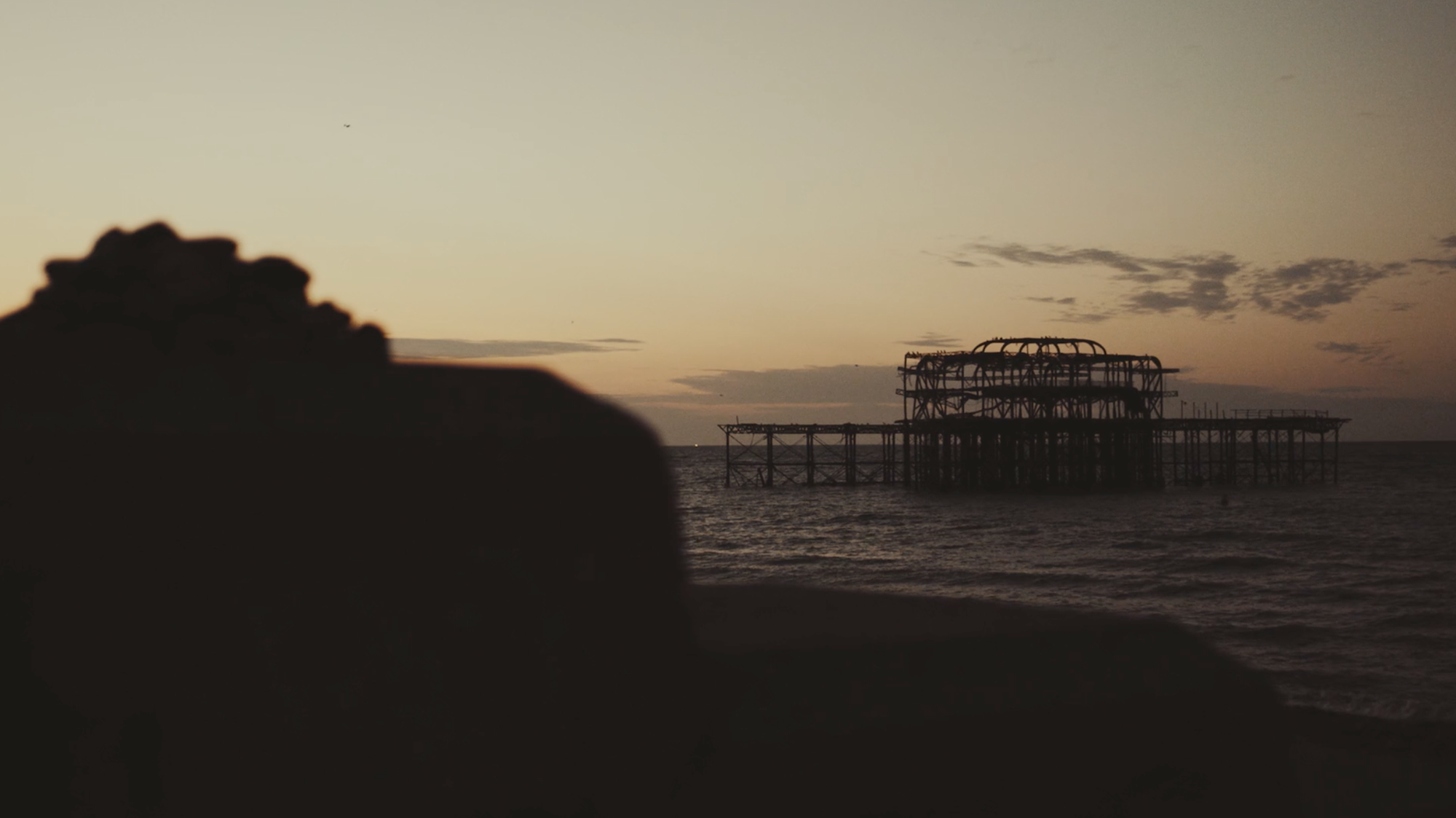 Walk along the Beach - Film, TravelFirst light in Brighton captured by James Miller