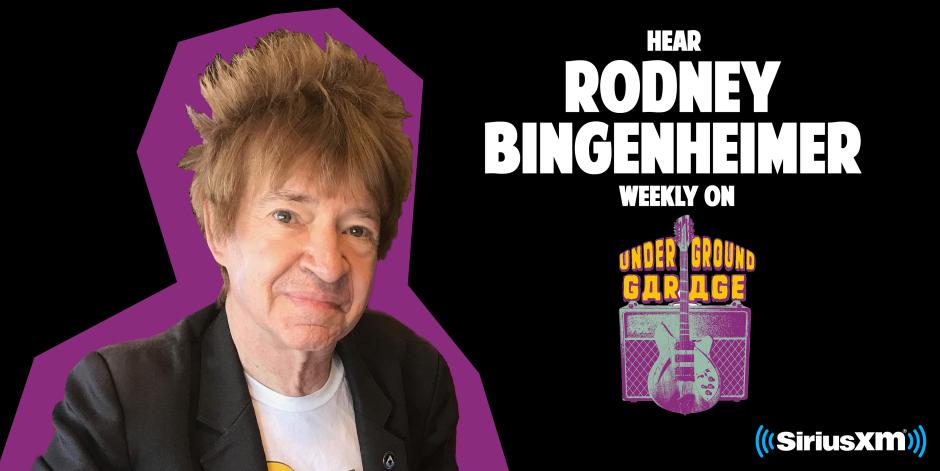"Sirius XM Rodney Bingenheimer Show"""