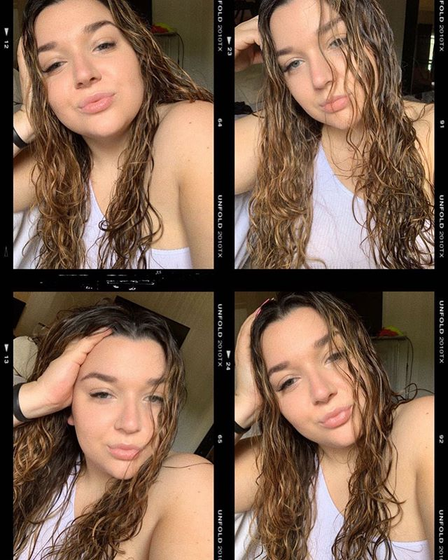 Few selfies while I wait for this hair to dry 🙄