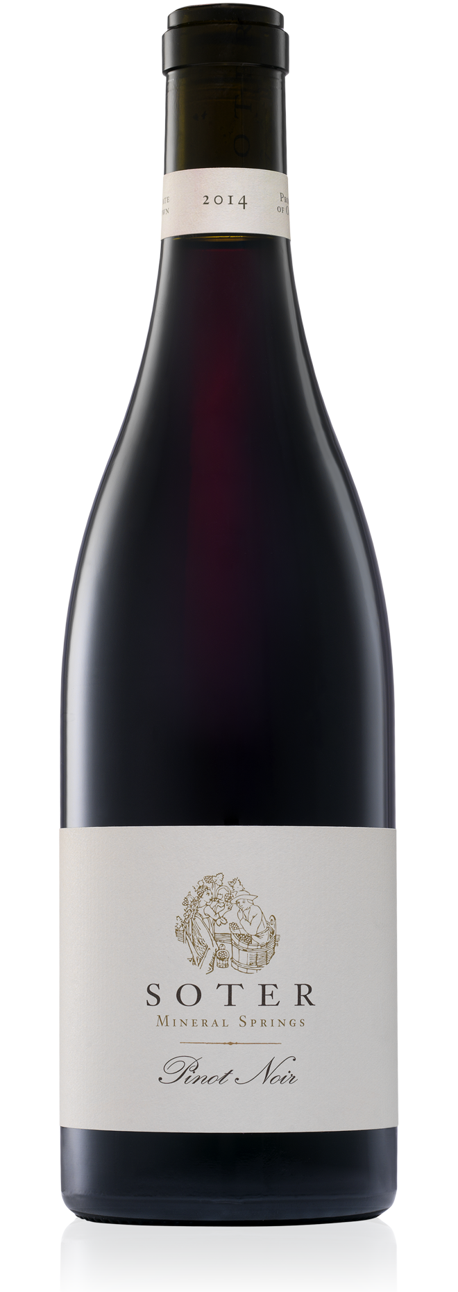 MINERAL SPRINGS WHITE LABEL PINOT NOIR
