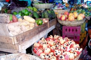Ackee is a fruit widely eaten in Jamaica. It is highly poisonous unless harvested and cooked properly.
