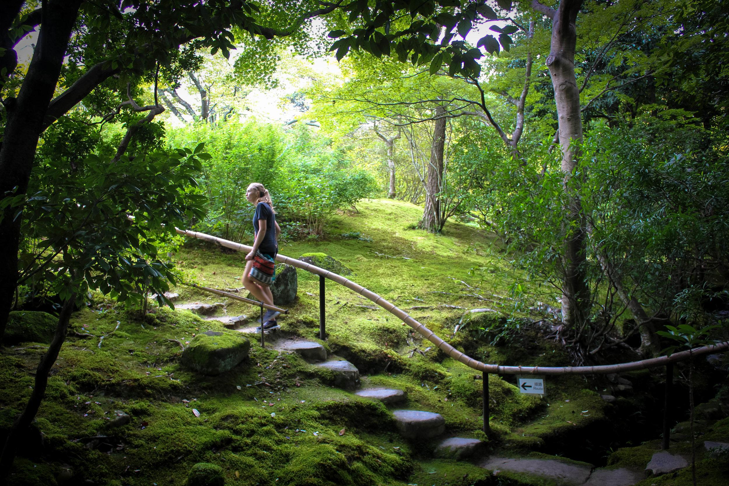 Isue-en Gardens in Nara